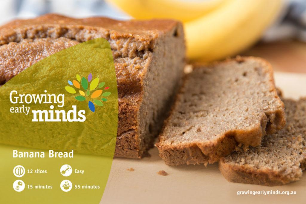 Banana and Coconut Bread - Nut-free Snacks