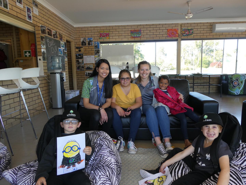 Therapists Visit Windaan In Coffs Harbour