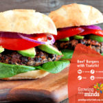 Beef Burgers With Tzatziki Recipe
