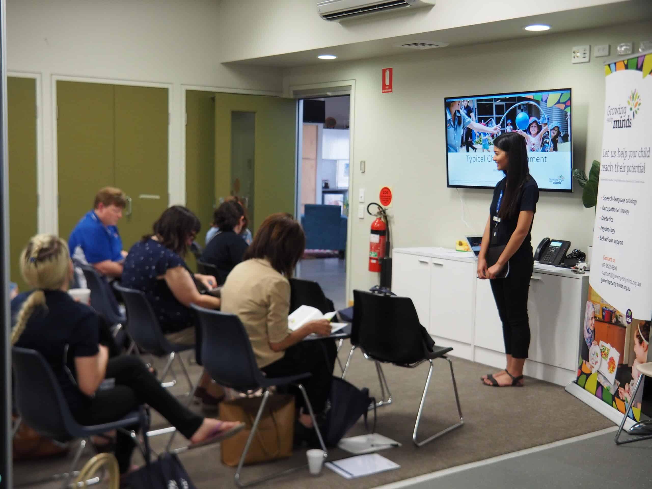 Childhood Developmental Milestone Educator Workshop