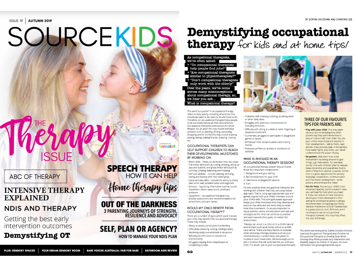 Read Our Article In Source Kids Magazine