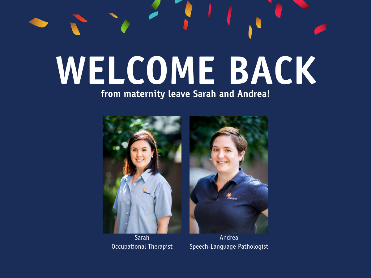Welcome Back From Maternity Leave