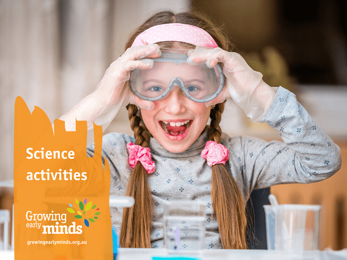 Science-based activities all children and explore and enjoy