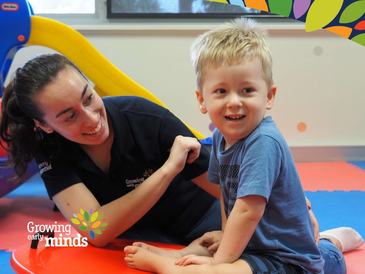 Driscilla Occupational Therapist Working With Smiling Child-FI