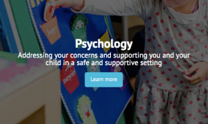 Psychology Learn More tab