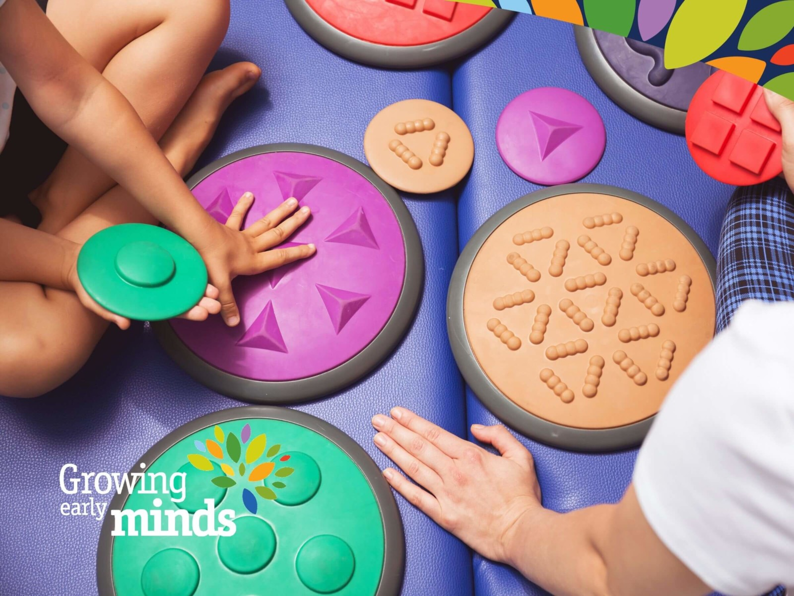 Occupational Therapy Tactile Discs For Sensory Processing Integration