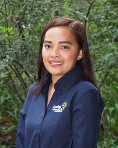 Roxanne Accounts Receivable Officer for Growing Early Minds
