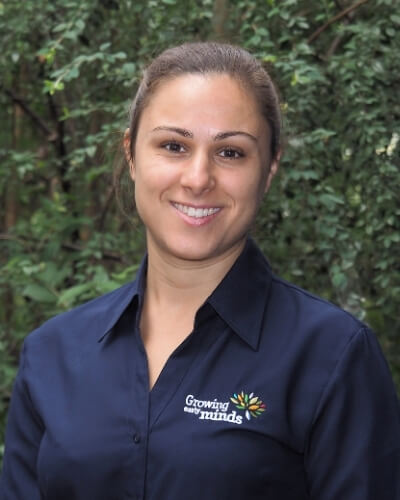Profile photo of paediatric dietitian Francesca